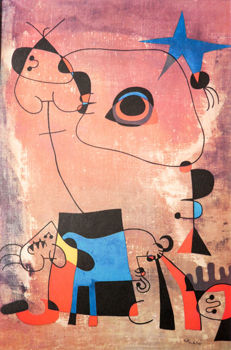 Joan Miró (after) - Peinture