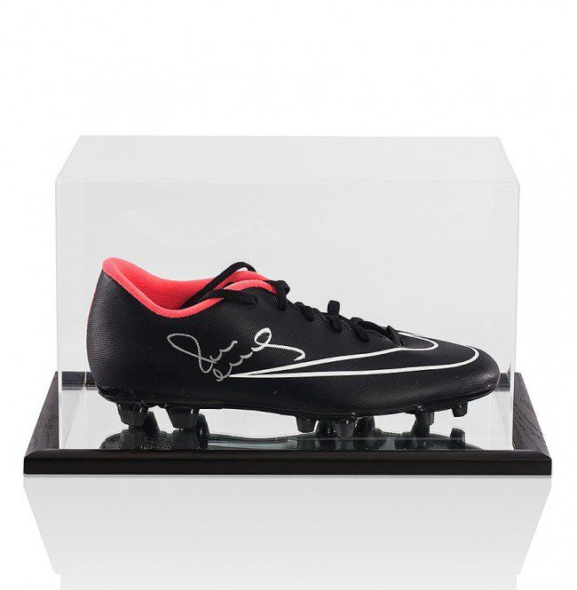 Paul Scholes Signed Boot in Arcrylic Display Case with Mirror Effect + COA A1.