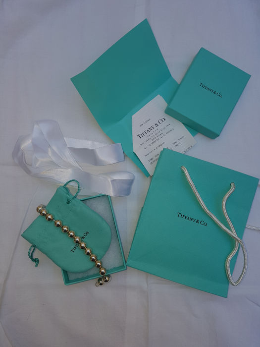 Tiffany armband in zilver - lengte 19,1 cm.
