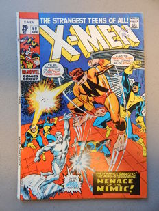 Marvel Comics - X-Men #69 - 1x sc - (1971)