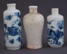 Snuff bottles - China - 19th century