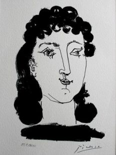 Pablo Picasso (after) - Gongora . Plate XIII