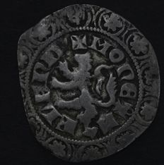 County Flanders, Bruges - Leeuwengroot no year from Lodewijk II from Male (1346-1384) - silver