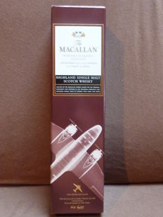 Macallan Whisky Maker's Limited Edition Classic Travel Range - 1930s PROPPELLER PLANE