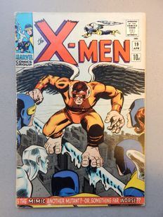Marvel Comics - X-Men #19  - 1st appearance of Mimic (Calvin Rankin) - 1x sc - (1966)