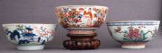 Special coloured bowls - China - 18th century