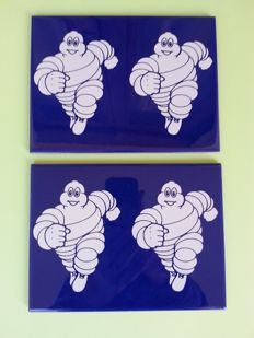 Michelin tiles - Set of two - Original - New