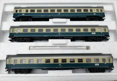 """Märklin H0 - 42994 - set """"Südwind"""" - 3 different Intercity carriages of the DB, with interior"""