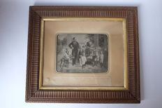Photographic reproduction of a drawing, Wilhelm II, German Emperor, 1859-1941