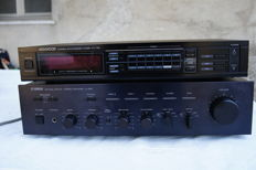 amplificatore yamaha natural sound a 560 + tuner kenwood kt 75l