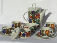 Villeroy & Boch, Septfontaines Acapulco Coffee or tea set for 4 persons