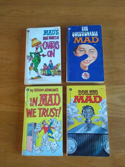 Collection of MAD Pocket Books - 64x sc - (1961/1984)