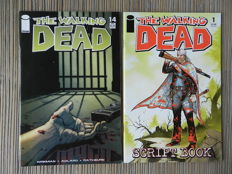 The Walking Dead # 14 and The Walking Dead Scriptbook # 1 - 2x sc (2004-2005)