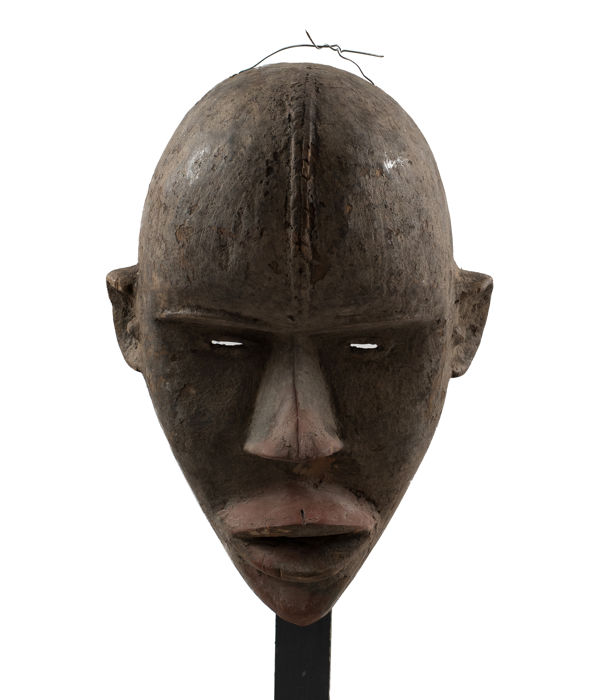 Dan wood mask from Ivory Coast