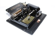 Typewriter MIGNON model 3 with lots of accessories