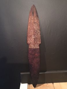 Old Bullroarer from Papua New Guinea