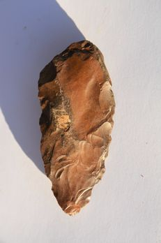 Aterian flint hand axe - 8.5 mm