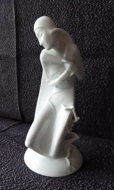 Gerhard Schliepstein for Rosenthal - Porcelain sculpture 'Winter'