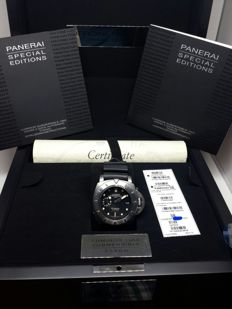 Panerai Luminor Submersible 1950 3 Days Titanium Special Edition 2500M 47mm -PAM00364  Men's watch 2014