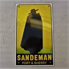 SANDEMAN Port & Sherry - Enamel - Limited Edition - ca. 1972 - Vintage