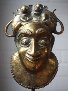 Bronze or Brass Mask - BENIN - Benin