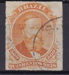 Brazil - Composition starting at 1850 on A4 stock pages
