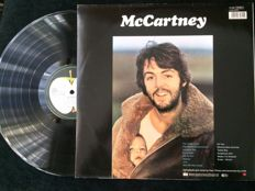 McCartney; 4 Albums plus RARE paintins book