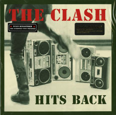 Lots of 2 Original Albums Off The Clash, 3 LP Hits Back 180 Grams and 3 Lp Sandinista! 180 Grams