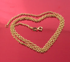 18k Yellow Gold Necklace - Force-  50 cm - 6.46 g