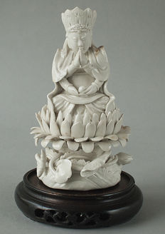Quan Yin blanc de chine – China – 1912-1949 (Republic era)