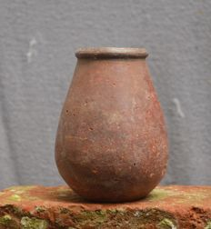 Antique African earthenware cup - DJENNE - Mali