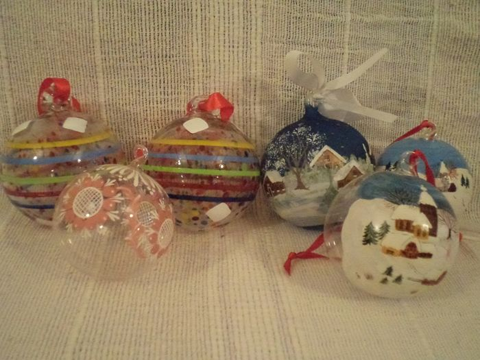 xl blown glass christmas ornaments glass - Blown Glass Christmas Ornaments