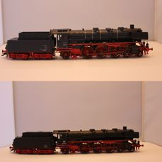 Märklin H0 - 37955 - Set of two steam locomotives with tender BR 03 of the DB