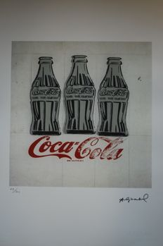 Coca Cola - Andy Warhol - Lithograph Georges Israel Editeur