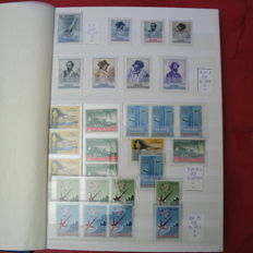 San Marino and Vatican City - Collection of ordinary post and services stamps