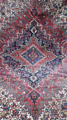 Exquisite XL Hand-knotted Persian - Heriz 353cm x 250cm !