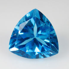 Swiss Blue Topaz - 5.60 Ct - No reserve Price