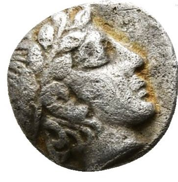 Ancient Greece - Troas, Neandreia, Obol 5th century BC - Apollo / ram
