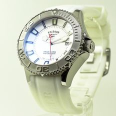 Krieger - 800M waterproof Men's watch -  White  Dial professional watch  - Men - 2011-present