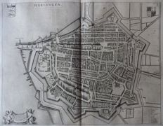Harlingen; Joan Blaeu - Harlingen - 1649