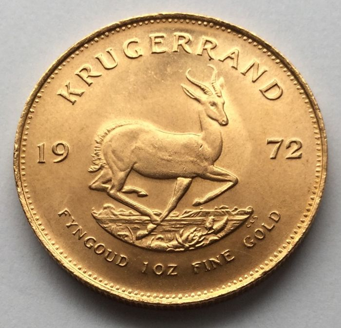South Africa - Krugerrand 1972 - 1 oz gold