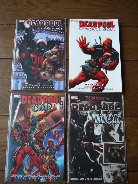 Collection of Deadpool Trade Paperbacks - x4 TPB (2009/2011)
