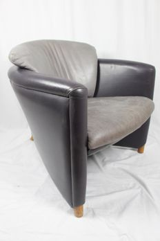 Jan Armgardt for Leolux - 'Excalibur' armchair, made in leather