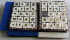 World - Batch of various coins (837 pieces) in 3 albums
