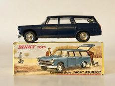 Dinky Toys-France - Scale 1/43 - Peugeot 404 'Commerciale' No.525