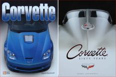 2 Books : Corvette Sixty Years