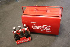 Coca Cola cooler from the 1960s/70s