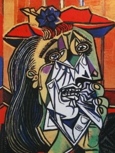 Pablo Picasso (after) - Weeping Woman