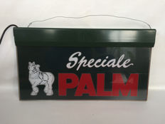 Advertising Light sign - Palm beer - late 20th century