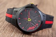 Scuderia Ferrari Laptime men's wristwatch in new condition